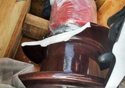 Restauração de porcelana partida